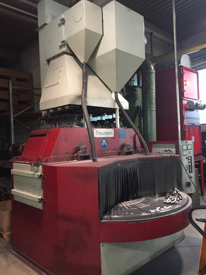 Sandstrahlen Maschine